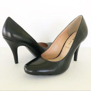 Gaia Giorgi Vera Pelle Italian Leather Heels Pumps